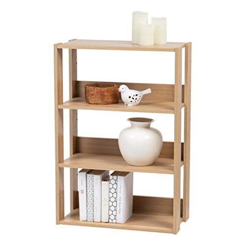 The Best Mantel Top For Folding And Stacking Bookcase 29.5 W Natural Review